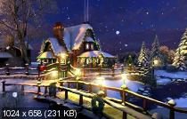 3Planesoft 3D Screensavers 1.1 / 1.2 Christmas (6 штук) Portable by Spirit Summer (x86-x64) (2016) Rus