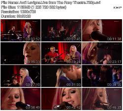 Avril Lavigne - Live from The Roxy Theatre (2007)