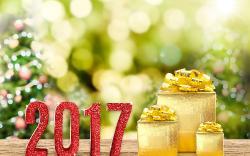Новогодние обои 2017 часть 2-3