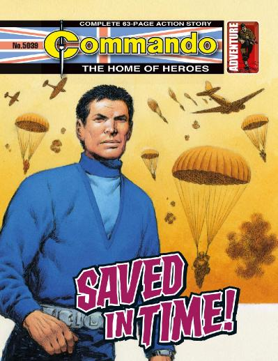 Commando 50'  Saved in Time !