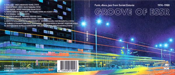 Va Groove Of Essr Funk Disco Jazz From Soviet Estonia Fer003cd Ee Cd (2019) Emxmp3