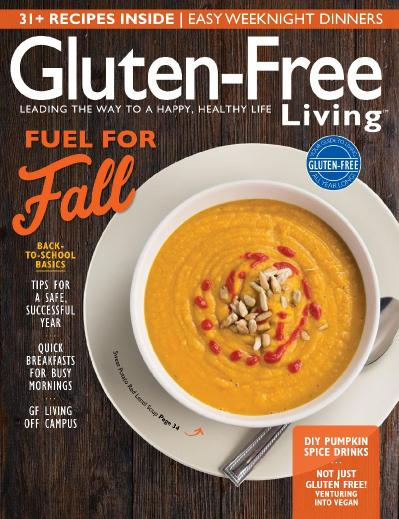 Gluten Free Living  September October (2017)