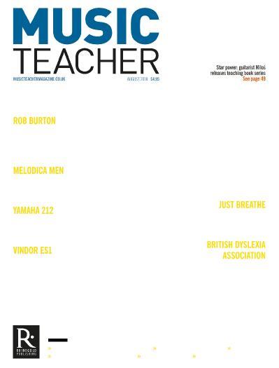 Music Teacher  August (2018)