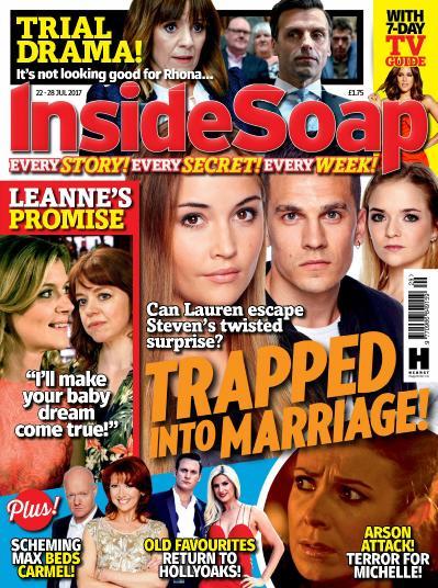 Inside Soap UK  22 28 July (2017)