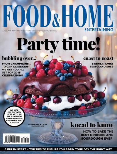 Food & & Home Entertaining  January (2018)