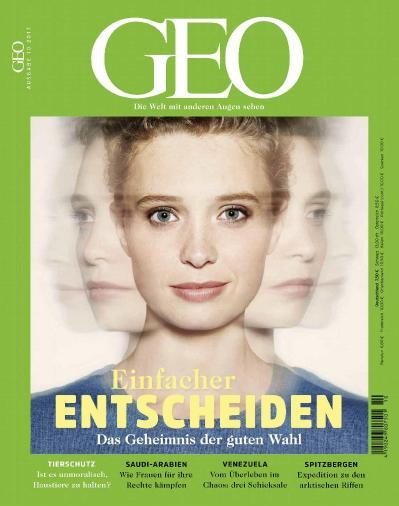 Geo Germany  Oktober (2017)