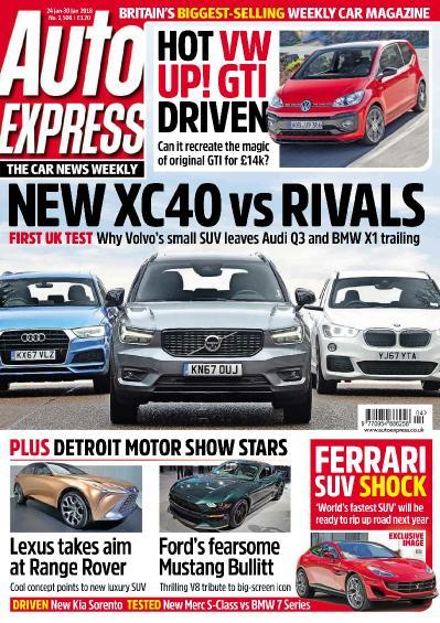 Auto Express   24 January (2018)