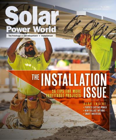 Solar Power World   March (2019)