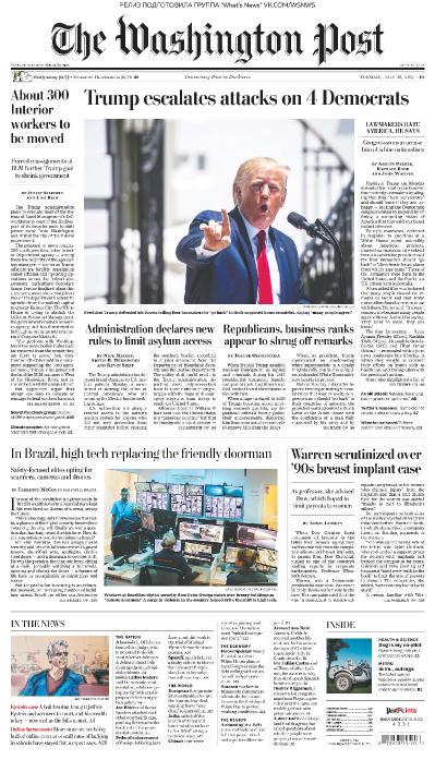 The Washington Post   16 07 (2019)