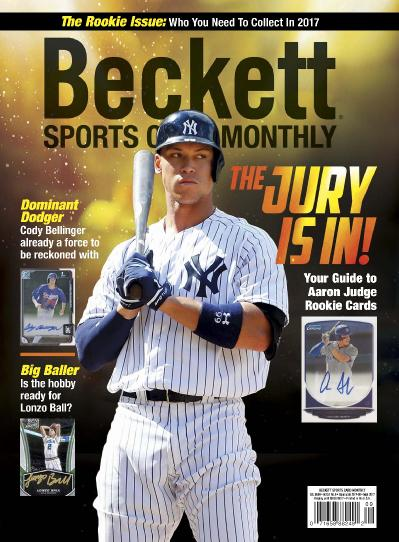 Sports Card Monthly  September (2017)