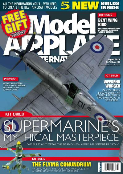 Model Airplane International   August (2019)