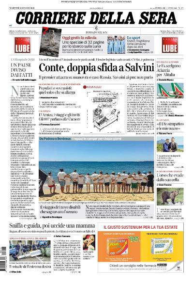 Corriere della Sera   16 07 (2019)