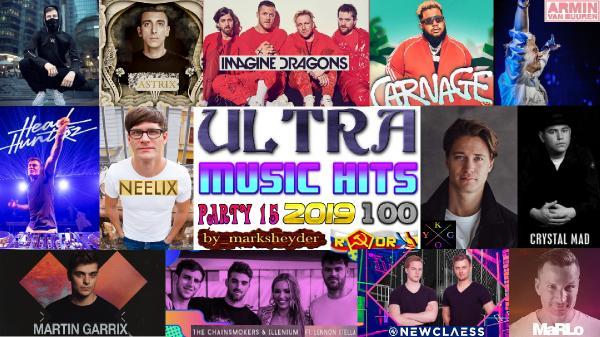 Сборник клипов - Ultra Music Hits. Часть 15. [100 Music videos] (2019) WEBRip 720p, 1080p скачать торрентом