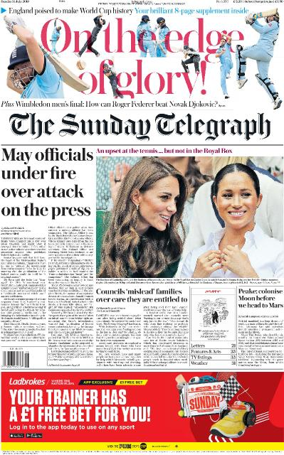 The Sunday Telegraph   14 07 (2019)