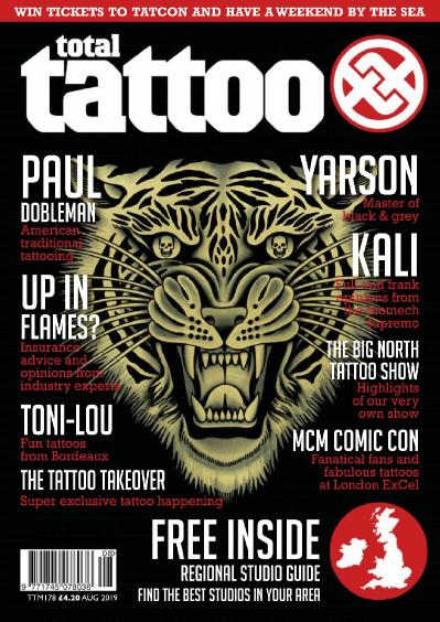 Total Tattoo   August (2019)
