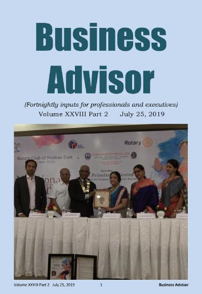 Business Advisor   July 22 (2019)