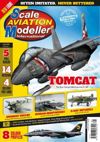 Scale Aviation Modeller International  January (2019)