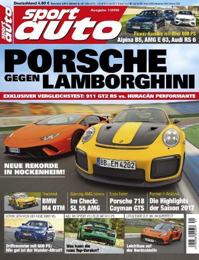 Sport Auto No 01  Januar (2018)