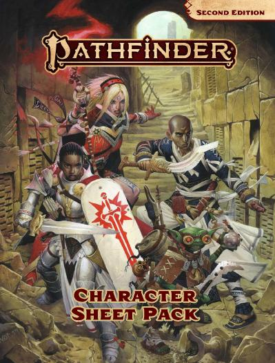 Pathfinder 2E Character Sheets Pack