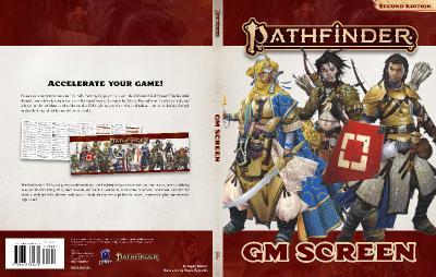 Pathfinder 2E GM Screen Port Cover