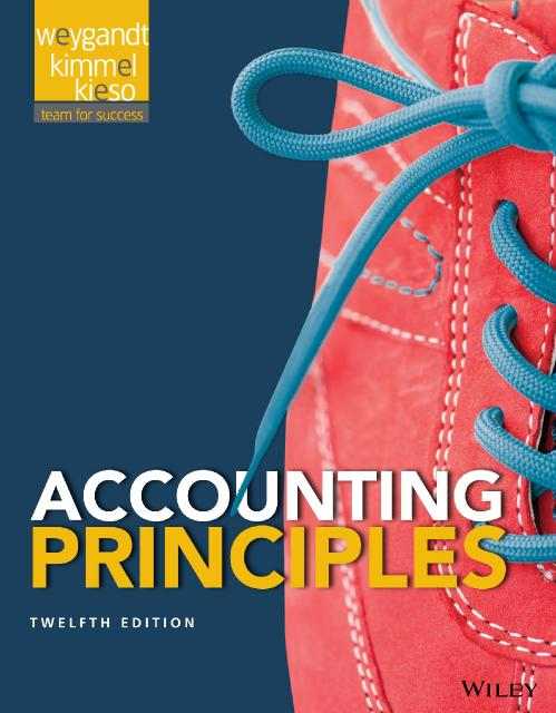 Accounting Principles 12th Edition by Jerry Weygandt Dr Soc