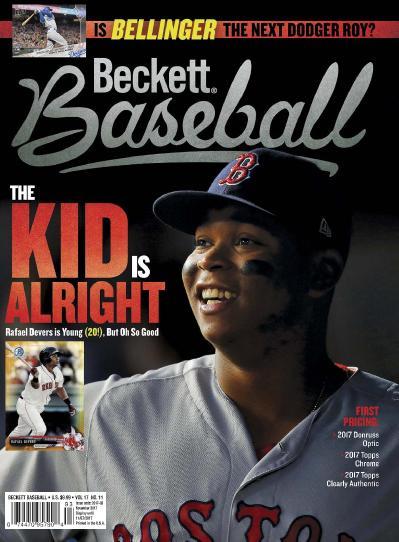 Beckett Baseball  November (2017)