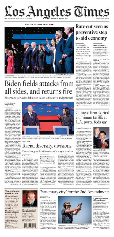 Los Angeles Times   01 08 (2019)