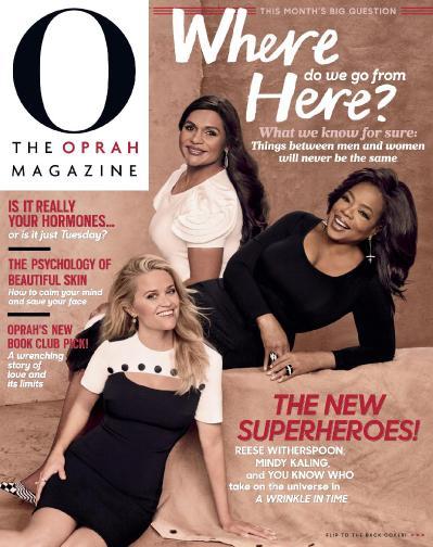 O The Oprah Magazine  March (2018)