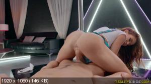 Megan Rain - Schoolgirl Strip Tease [1080p]