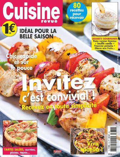 Cuisine Revue N 78  Ao 251 t Octobre (2019)