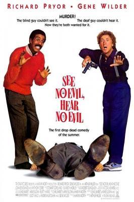 Ничего не вижу, ничего не слышу / See No Evil, Hear No Evil (1987)  BDRemux 1080р