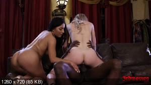 Liv Revamped, April Aniston - Girls Sharing Black Cock Together [720p]