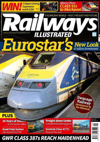 Railways Illustrated  August (2017)