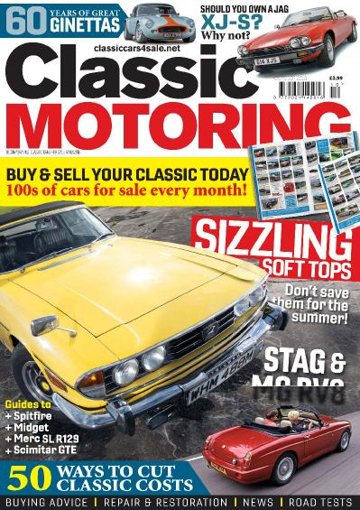 Classic Motoring  October (2018)