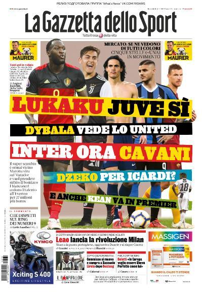 La Gazzetta dello Sport   31 07 (2019)