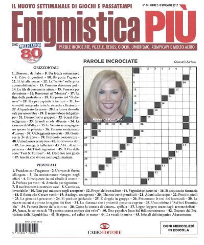 Enigmistica PIU  8 Novembre (2017)