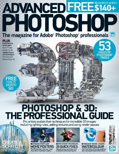 Advanced Photoshop Issue 136   2015 UK