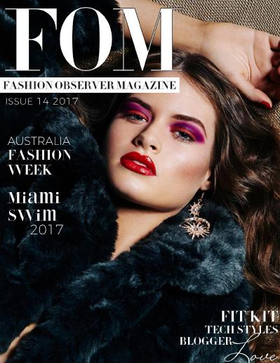 FOM Fashion Observer Magazine  Issue 14 (2017)