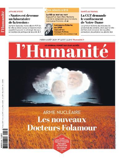 Humanite   2019 08 06