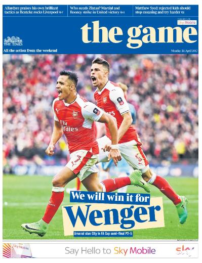 The Times  The Game  24 April (2017)