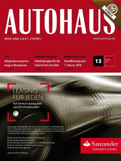 Autohaus  Nr 13 (2017)
