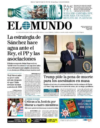 El Mundo   06 08 (2019)