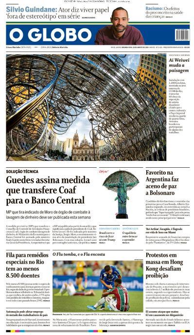 O Globo   19 08 (2019)