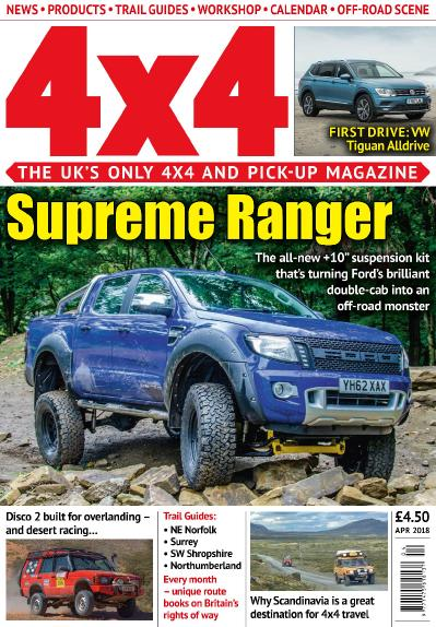 4x4 Magazine UK   April (2018)
