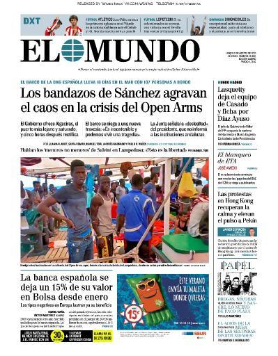 El Mundo   19 08 (2019)
