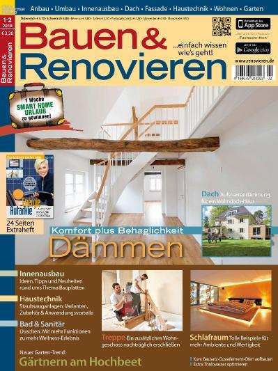 Bauen und Renovieren No 01 02  Januar Februar (2018)