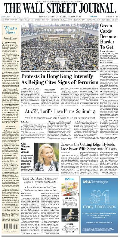 The Wall Street Journal   13 08 (2019)
