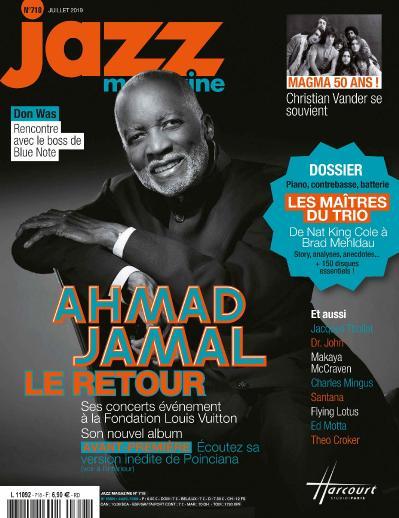 Jazz Magazine N 718  Juillet (2019)