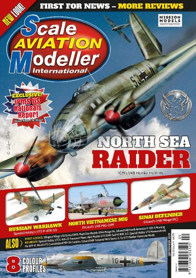 Scale Aviation Modeller International   September (2019)