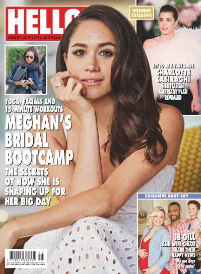 Hello ! Magazine UK   09 April (2018)